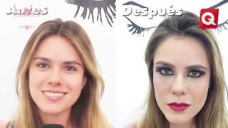 Natalia Narváez – Maquillaje de Noche – 25 de Agosto 2015 #Belleza
