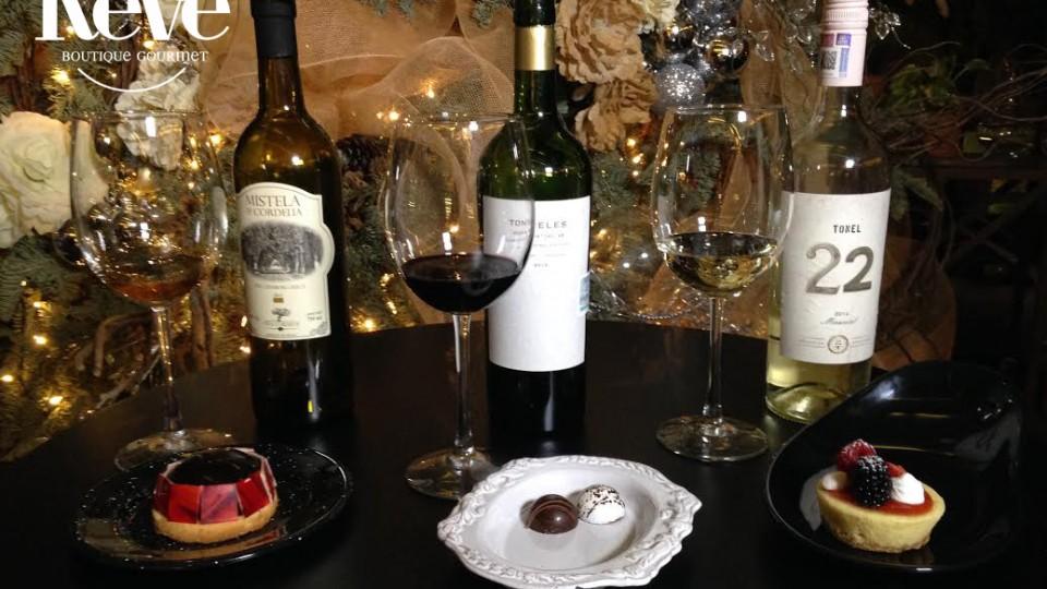 Le Rêve – Cata de vino y chocolate – 23 Diciembre 2015 #Especial