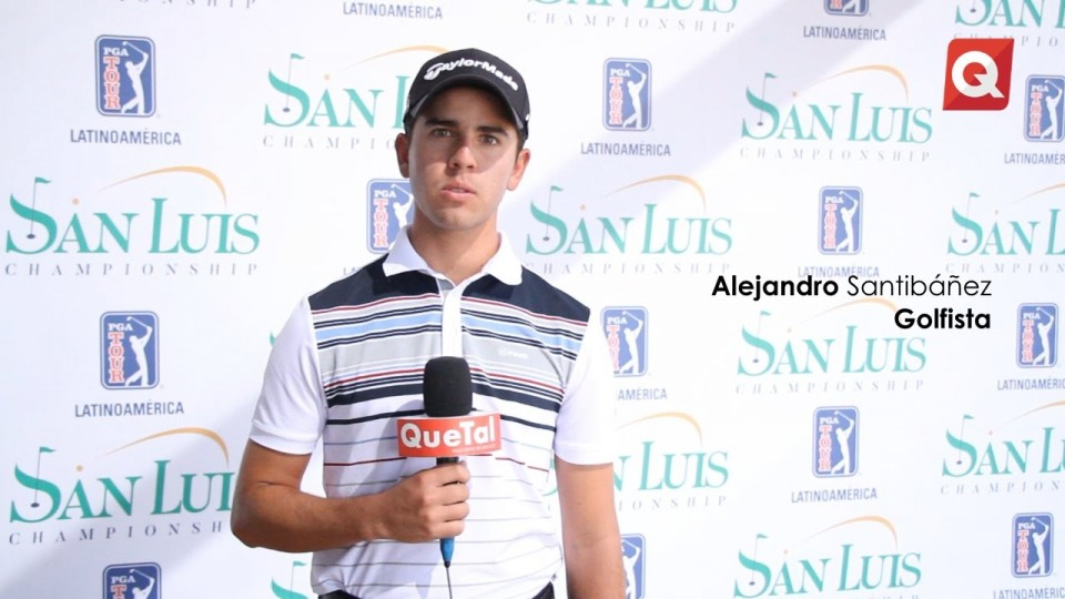 Alejandro Santibáñez – Golfista – 13 Septiembre 2016 – #DEPORTE
