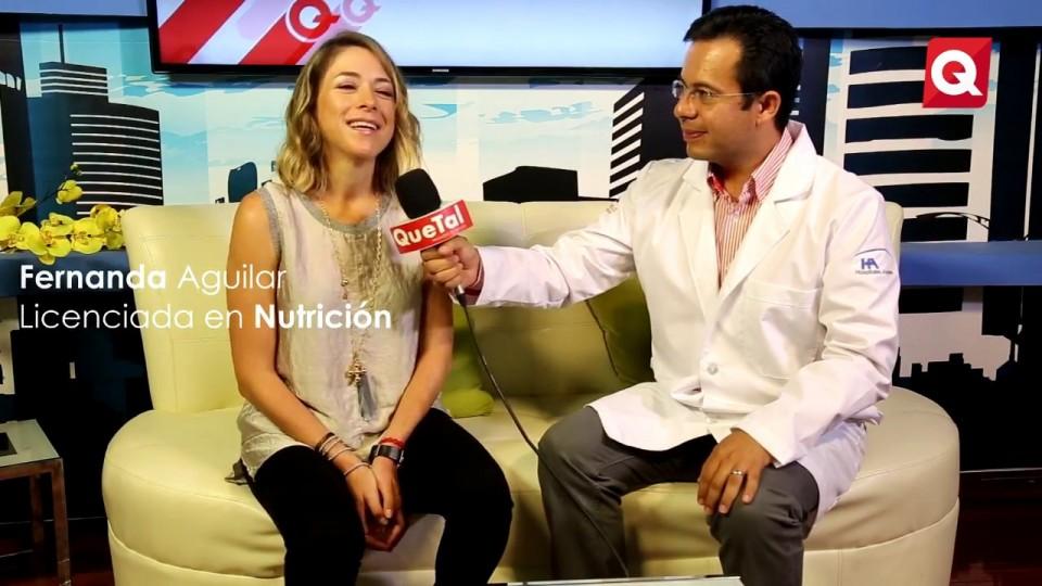 Fernanda Aguilar – Suplementos Alimenticios – 1 Noviembre 2016 – #SALUD.