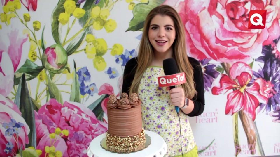Pastel de nutella y Ferrero – Isa Zúñiga – 22 Noviembre 2016 – #COCINA