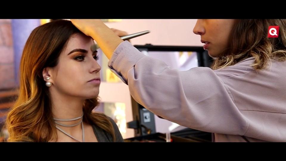Ale Martínez – Maquillaje bronz  ahumado – 28 Marzo 2017 – #BELLEZA