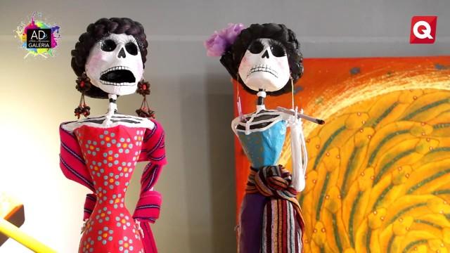 Galería A De Arte Mexicano – Exposición Catrinas  – 9 Mayo 2017 – #ARTE