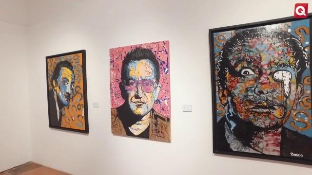 Dùo dinamico exposición de  Jose Zendejas y Bosco Gomez – 8 Agosto 2017 – #ARTE
