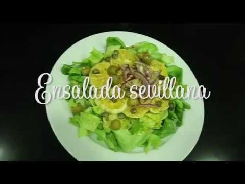 Cony Alvarado – Ensalada Sevillana – 13 Febrero 2018 – #COCINA