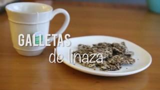 Paola Dávila – Galletas de linaza – 20 Febrero 2018 – #COCINA