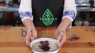 Biótica – Blue espirulina bowl – 08 Mayo 2018 – #COCINA