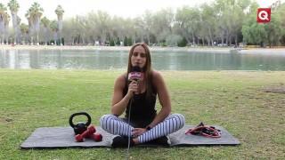 Rutina de pierna con Rommy Coco  – 8 Enero 2019 – #SALUD