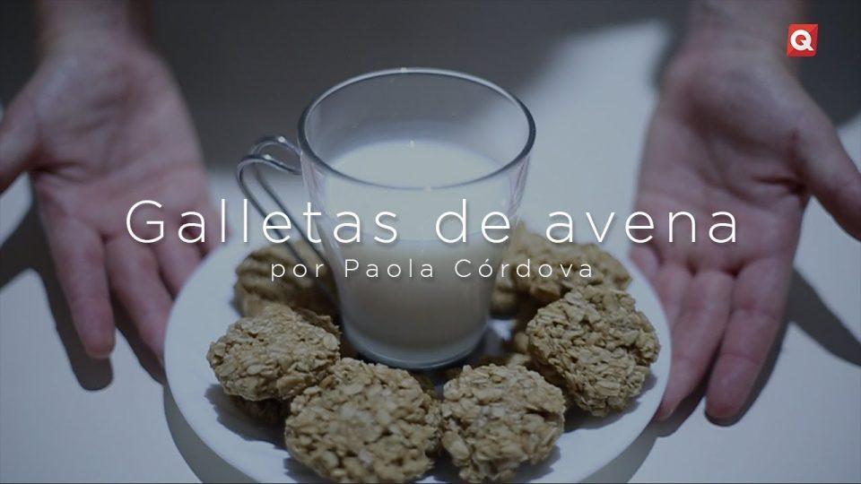 Galletas de avena por Paola Córdova