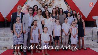 Bautizo de Carlota & Andrés