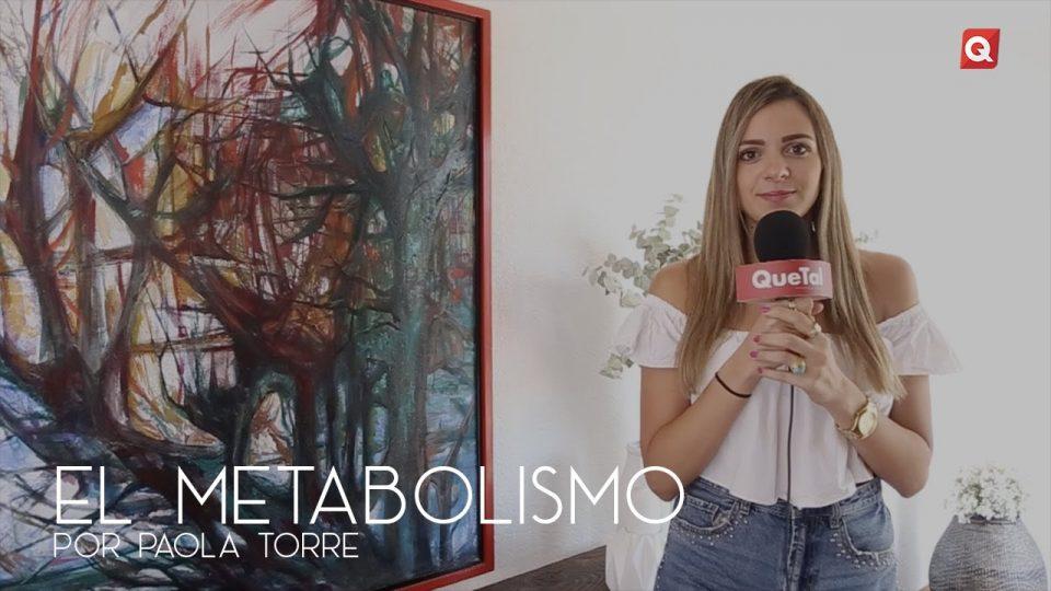El metabolismo por Paola Torre
