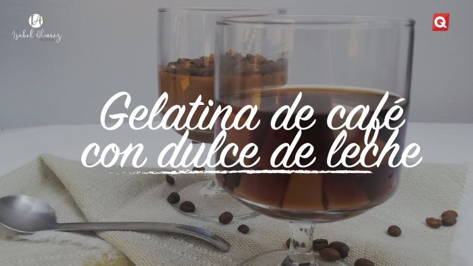 Gelatina de café