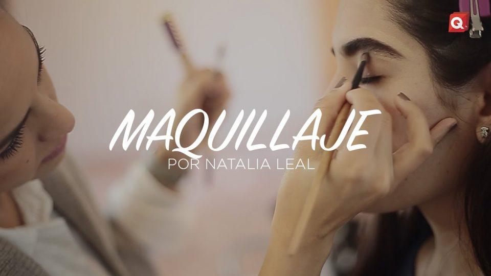 Natalia Leal maquillaje para Mariana Rodríguez
