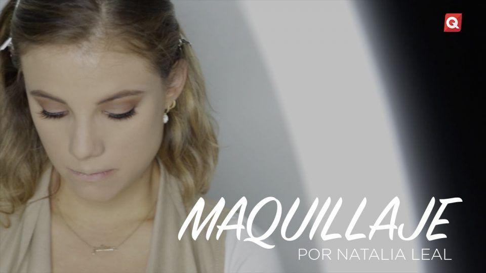 Natalia Leal maquillaje para Montse Martell
