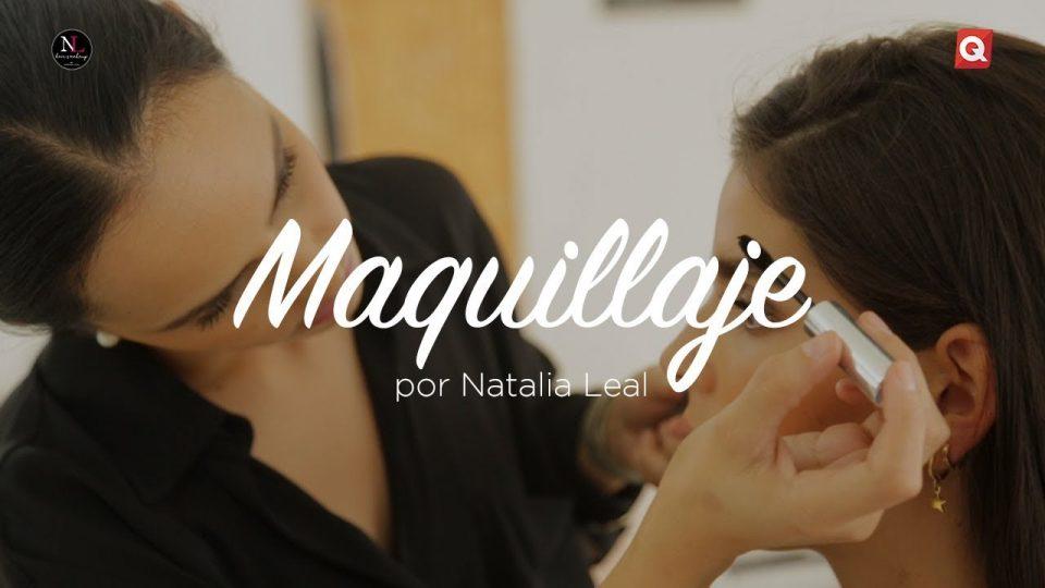Natalia Leal maquillaje para Pepi Tobías