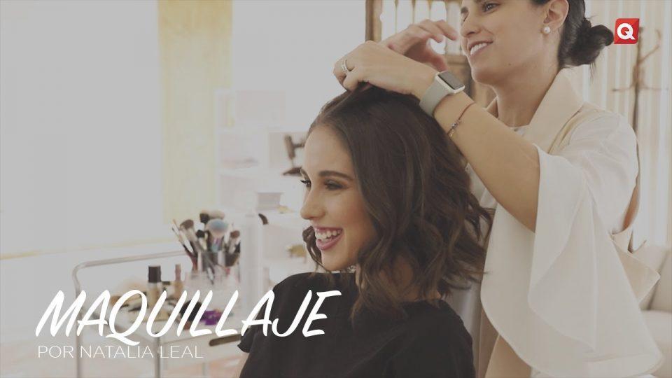 Natalia Leal maquillaje para Vale Navarro
