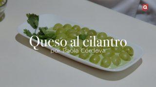Queso al cilantro