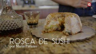 Rosca de sushi por María Páramo