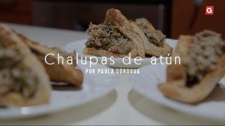 Chalupas de atún por Paola Córdova