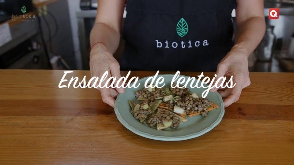 Ensalada de lentejas por Biotica