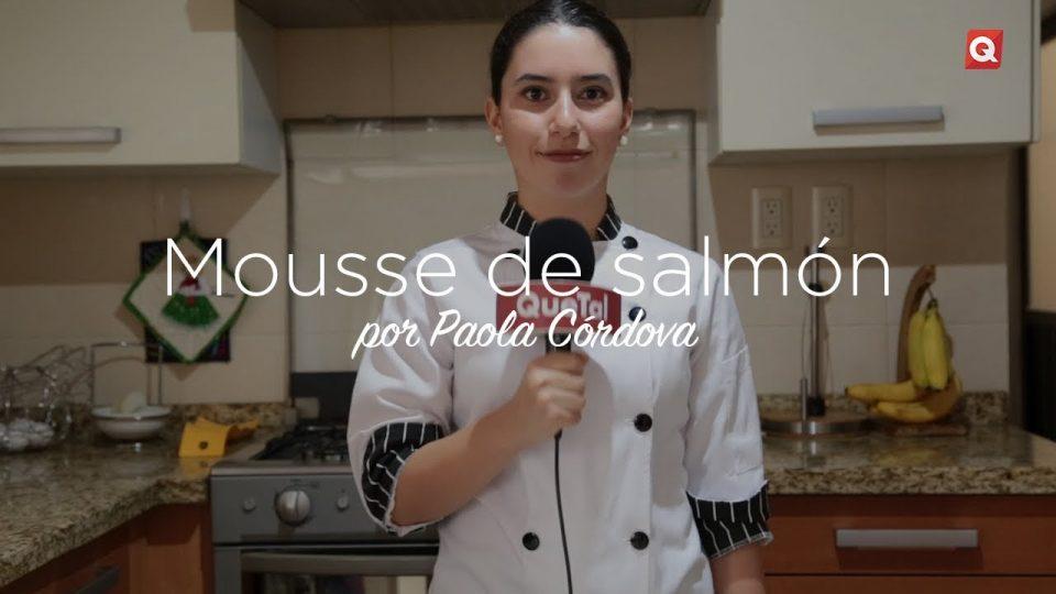 Mousse de salmón por Paola Córdova