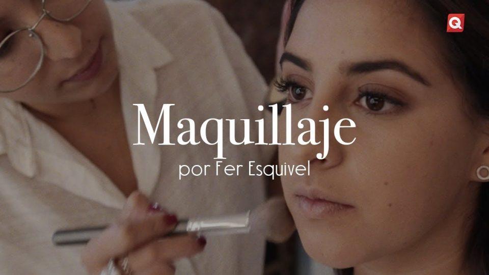 Fer Esquivel maquillaje para Lorea Gómez