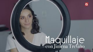 Jimena Treviño maquillaje para Adri de la Maza