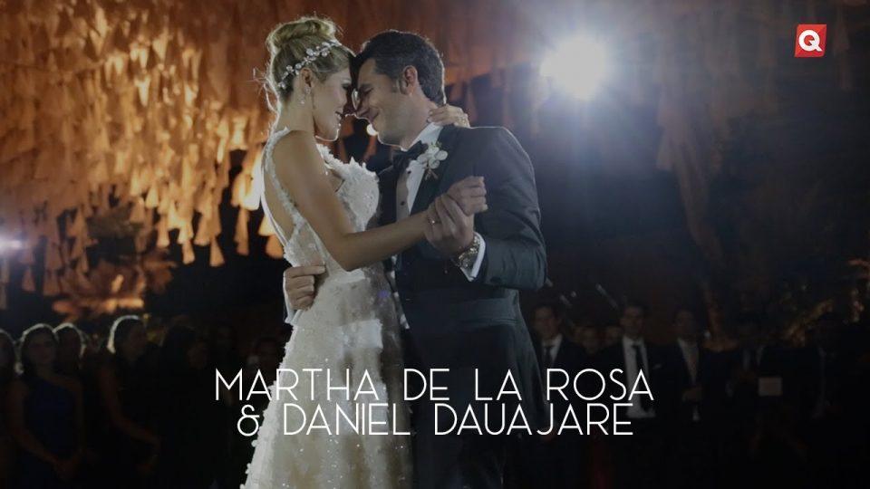 Boda de Martha de la Rosa & Daniel Dauajare