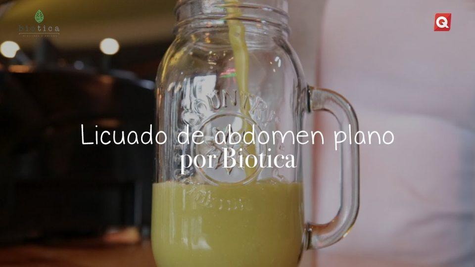 Licuado de abdomen plano por Biotica