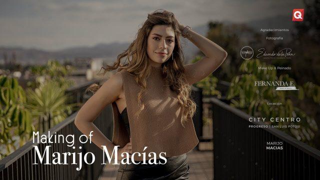 Making of Marijo Macías