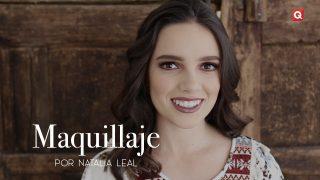 Natalia Leal maquillaje para Montse Piñero
