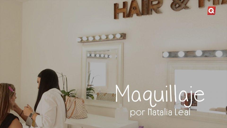 Natalia Leal maquillaje para Pilar Palomar