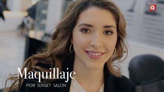 Sunset Salón maquillaje para Nuria Minondo