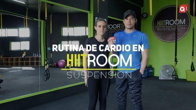 Rutina de cardio con HIIT Room