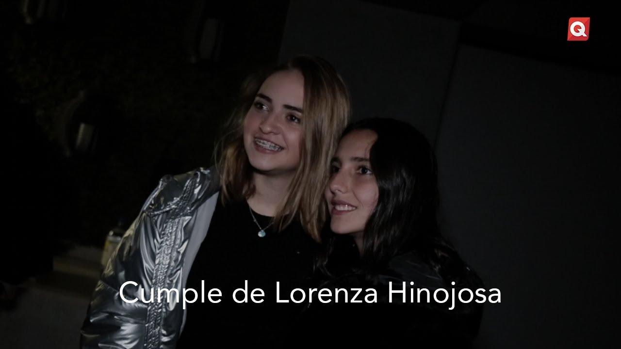 Cumple de Lorenza Hinojosa
