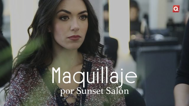 Sunset maquillaje para Montse Berrueta