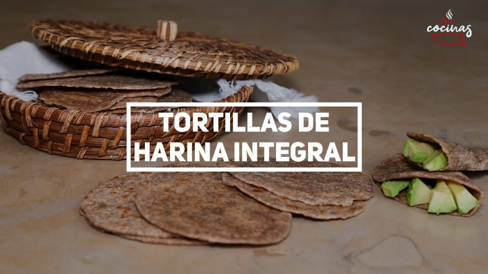 Tortillas de harina integral