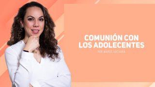 Marcela Guevara – Comunión con los adolecentes
