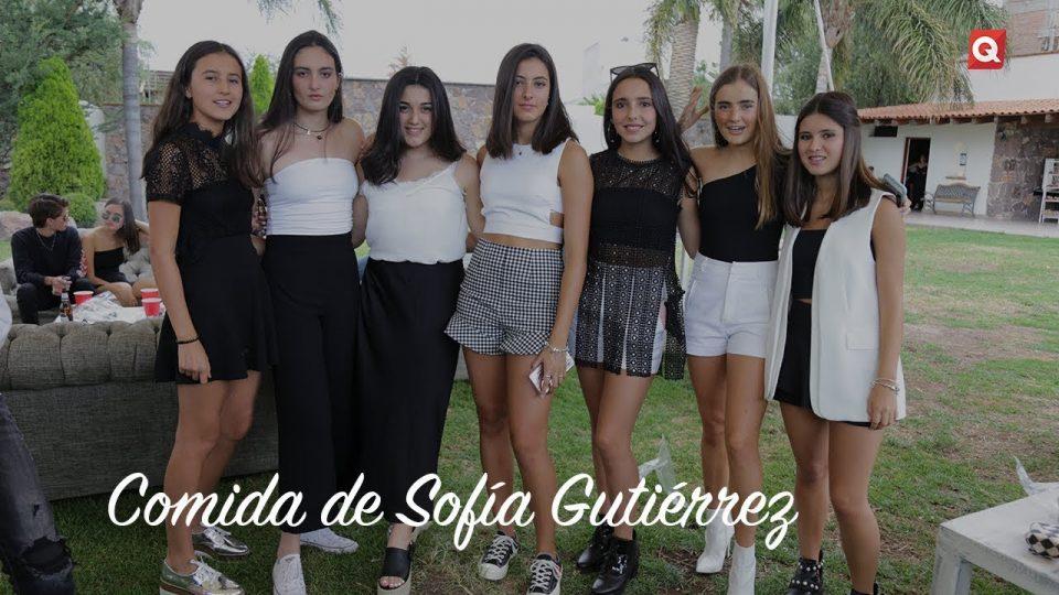 Comida de Sofía Gutiérrez