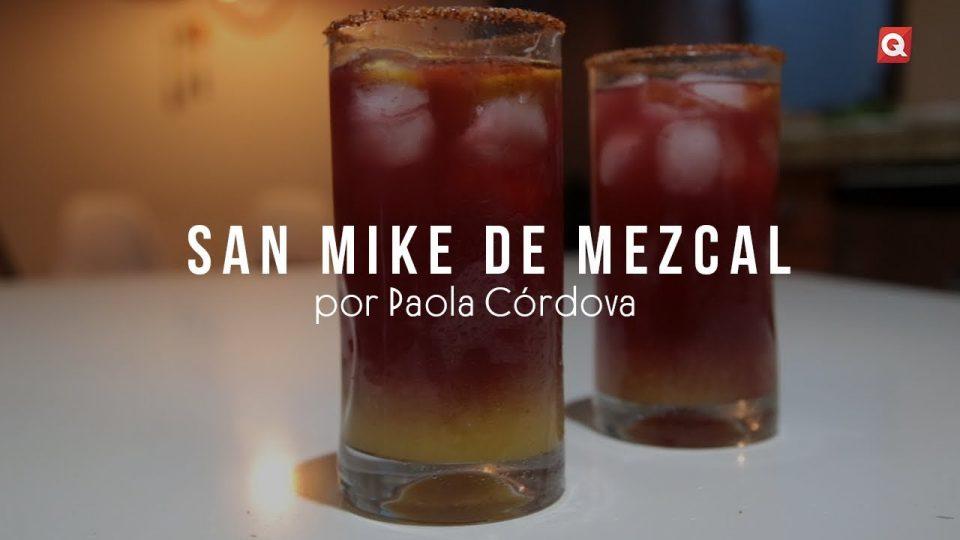 San Mike de mezcal por Paola Córdova