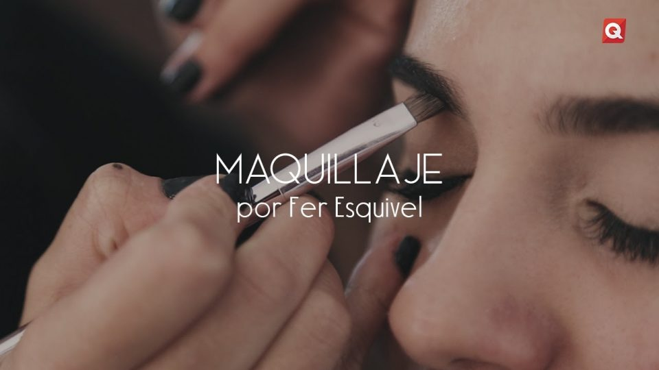 Fer Esquivel maquillaje para Mayteé de Antuñano