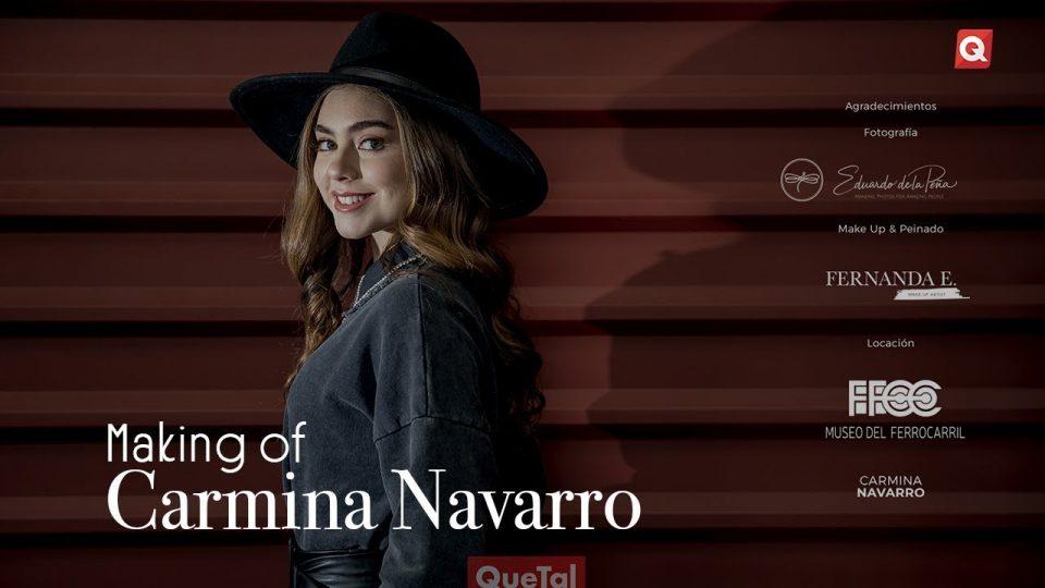 Making of Carmina Navarro