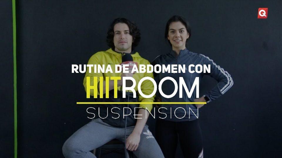 Rutina de abdomen con HIIT Room