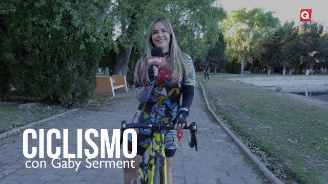 Ciclismo con Gaby Serment