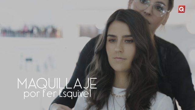 Fer Esquivel maquillaje para Isa Pérez
