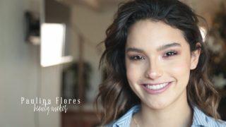 Paulina Flores maquillaje para Pau González