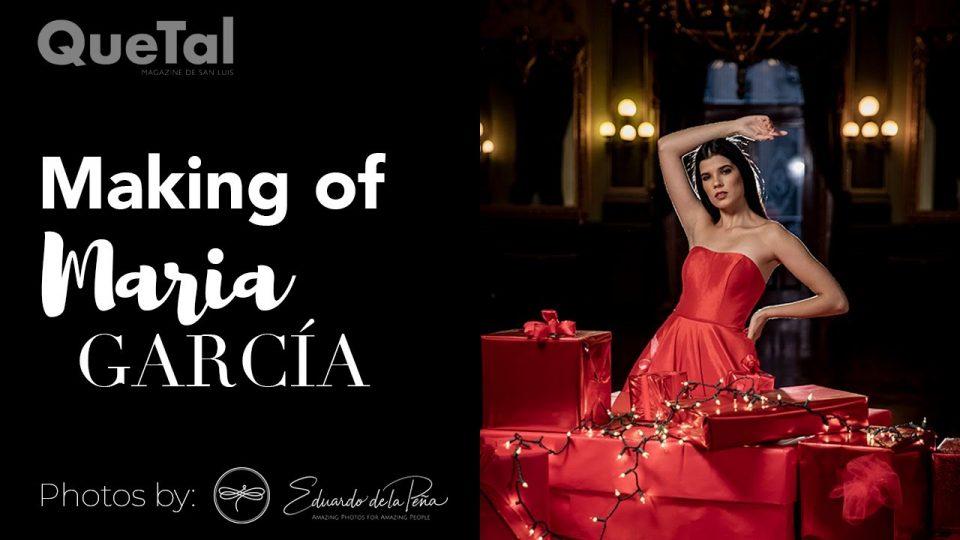 MAKING OF MARÍA GARCÍA