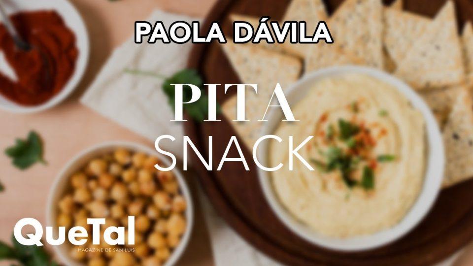 RECETA DE PITA SNACK con PAOLA DAVILA