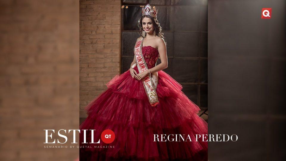 ESTILO QT presenta: Regina Peredo