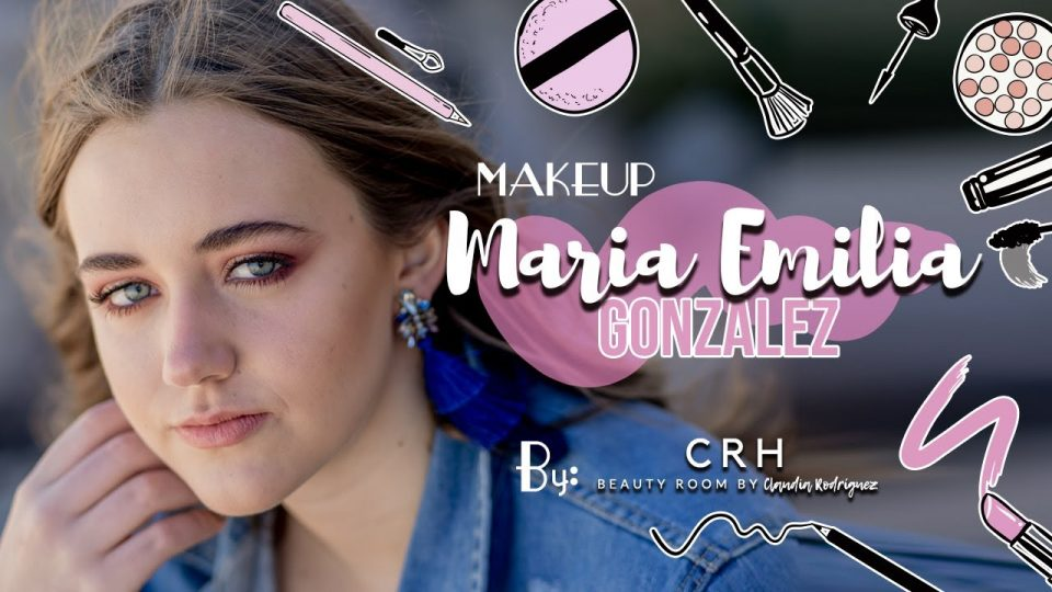MAKEUP DE MARIA EMILIA GONZALEZ por CLAUDIA RODRÍGUEZ